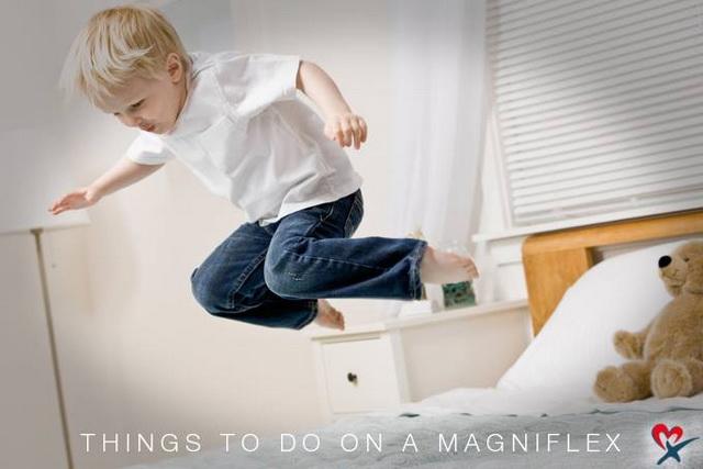 Прыгай на матрасе magniflex