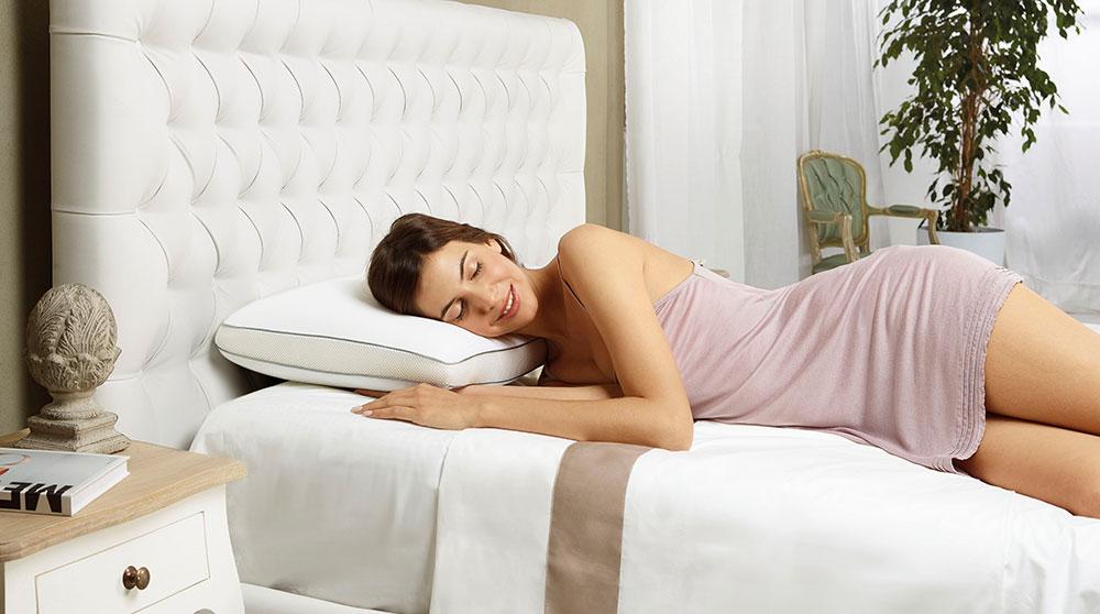 На ортопедической подушке Superiore